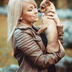 outdoorshooting-model-mit-hund